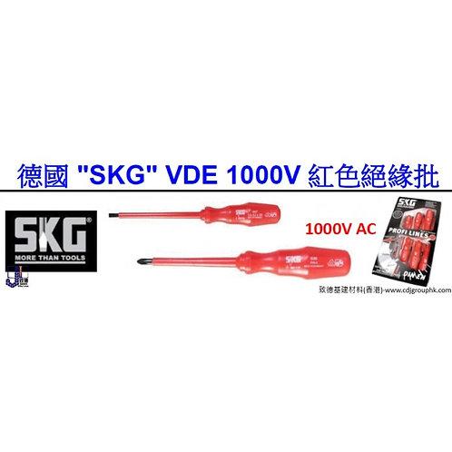 "德國""SKG""-1000V紅色絕緣批-SKG1000"