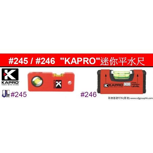 """以色列""""KAPRO""""-迷你平水尺-KAR02456"""