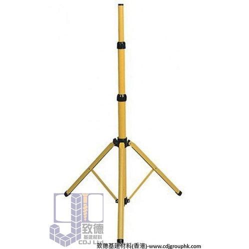 中國/台灣-1.6米伸縮燈架可配小太陽燈座或LED燈-燈架 腳架 三腳架 燈架 伸縮腳架施工燈 露營燈架 LED工作燈-HAL-500-5A