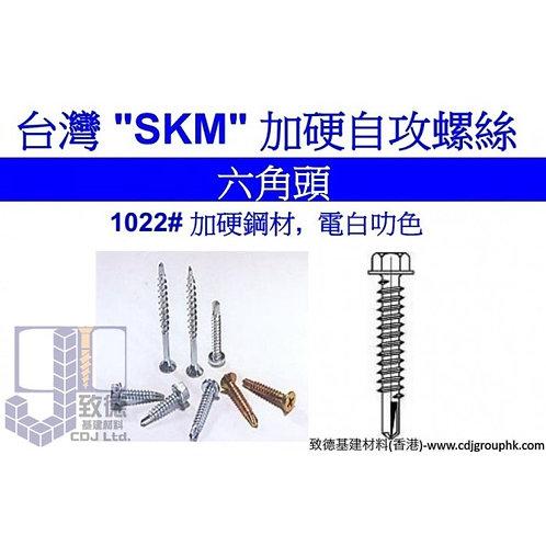 "台灣""SKM""加硬自攻/自鑽螺絲Hex Washer Head Self Drilling Screw-TSS0H"