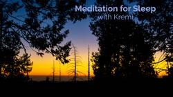 Meditation for Sleep