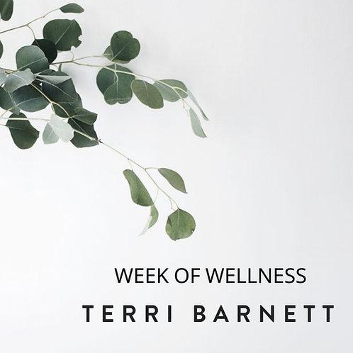 A Week of Wellness with Terri Barnett