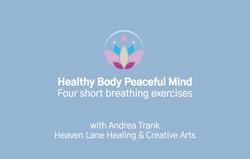 7. Four short breathing exercises