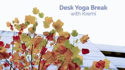 Desk Yoga Break