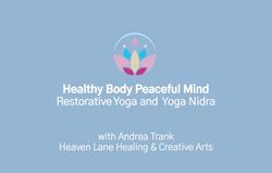 8. Restorative Yoga and Yoga Nidra
