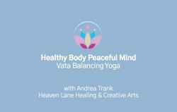 5. Vata Balancing Yoga