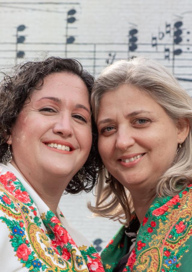 Basgoze-Pinto Piano Duo - Color - Music Wall