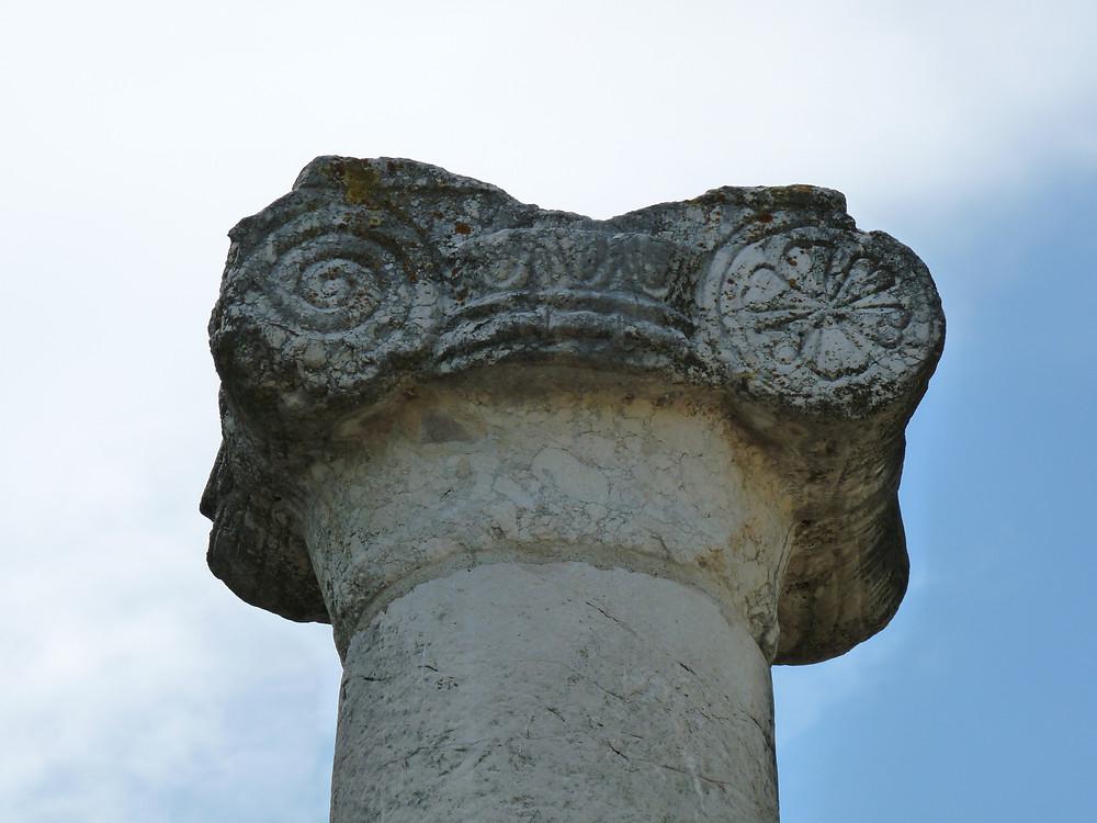 Basilica (particolare del capitello ionico)