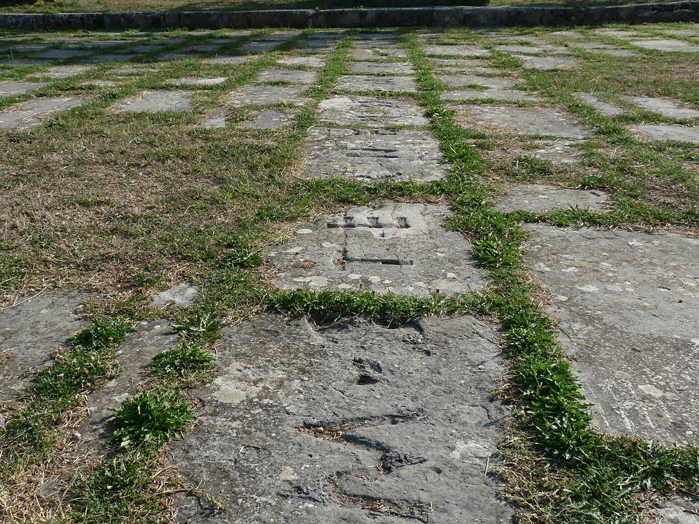 Foro: resti dell'iscrizione