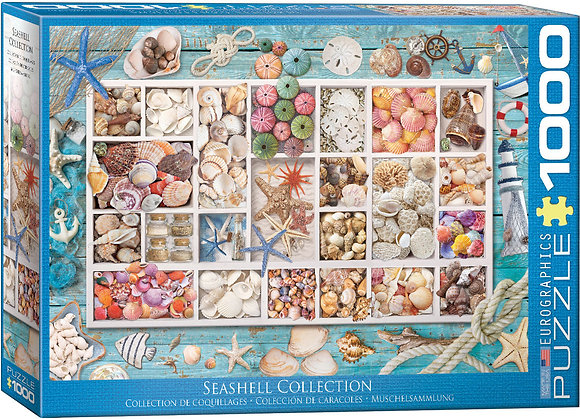 Puzzle 1000pcs - Seashell Collection