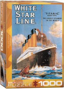 Puzzle 1000pcs - White Star Line Titanic
