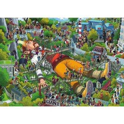 Puzzle 1000pcs - Gulliver, Oesterle