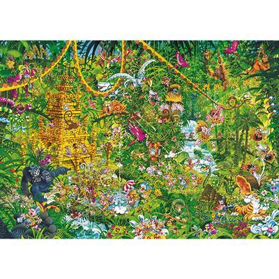 Puzzle 2000pcs - Depp Jungle, Ryba