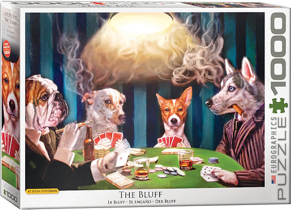 Puzzle 1000pcs - The Bluff
