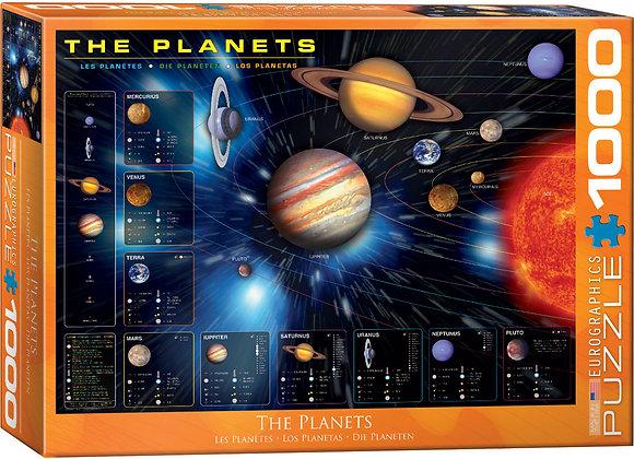 Puzzle 1000pcs - The Planets