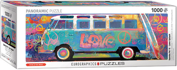 Puzzle 1000pcs - VW Love-Splash