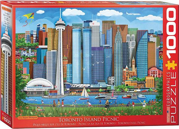 Puzzle 1000pcs - Toronto Island Picnic