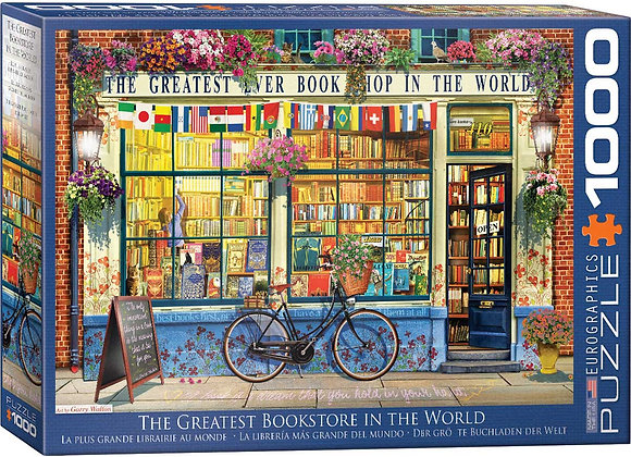 Puzzle 1000pcs - The Greatest Bookstore in the World