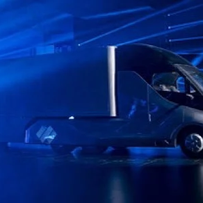 Baidu Unveils Electric Robot Truck With Smart Cabin and Advanced Self-Driving Tech