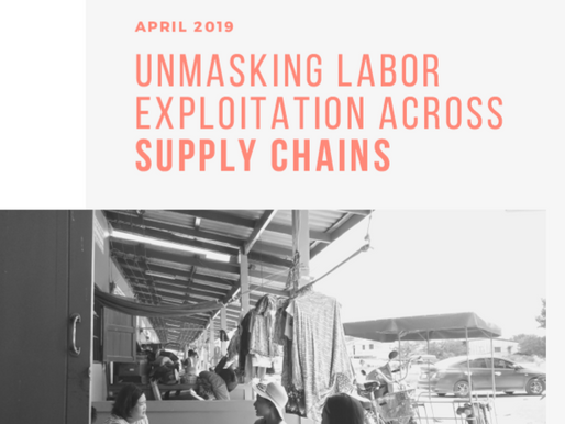 Report launch: Unmasking labor exploitation across supply chains