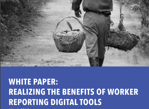 Apprise featured in a White Paper: The Benefits of Worker Reporting Digital Tools