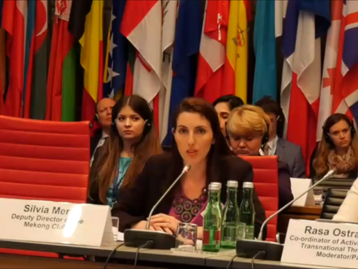 Apprise Audit showcased at the OSCE 19th Alliance against Trafficking in Persons