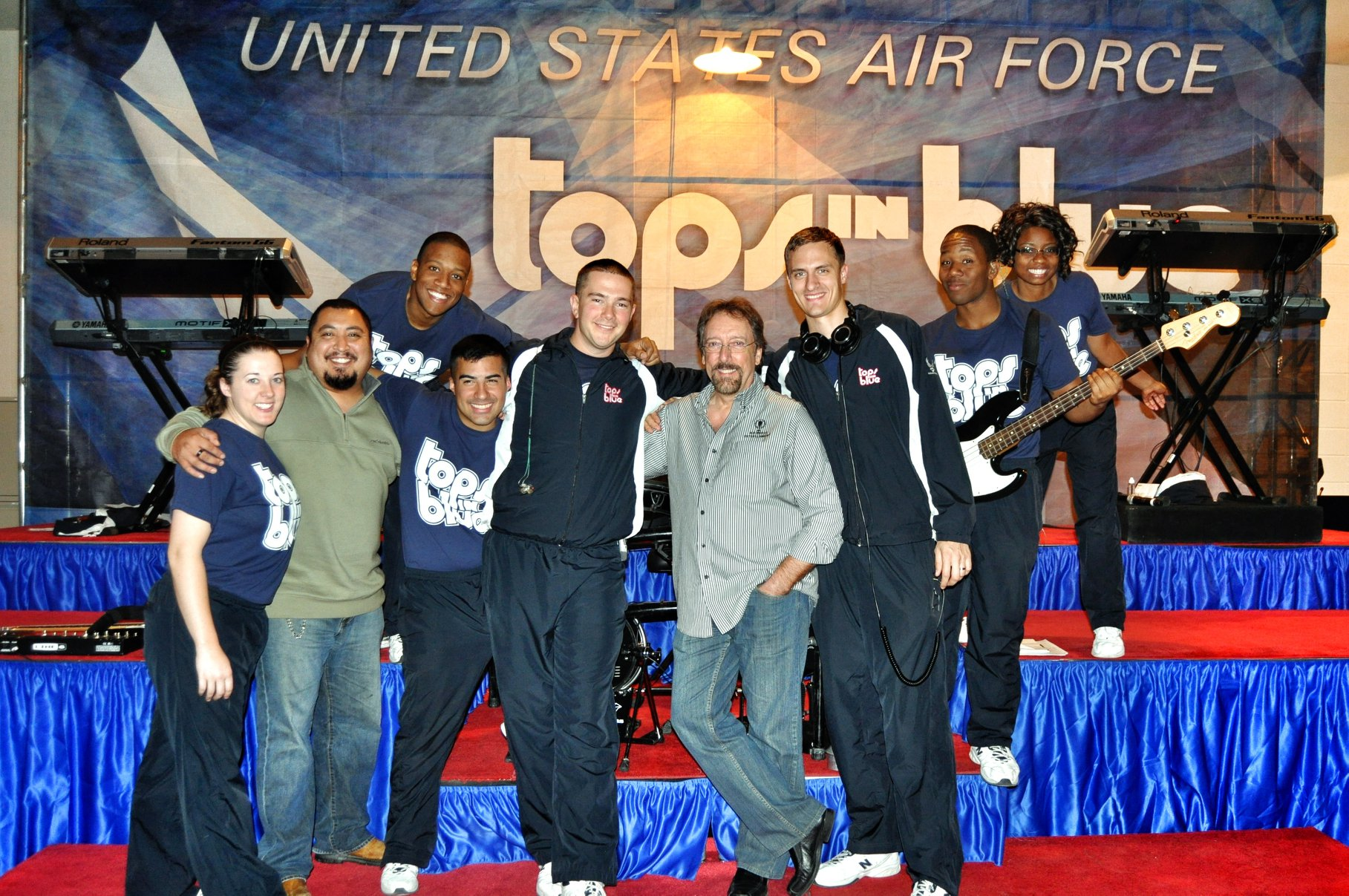 With Tops In Blue 2012