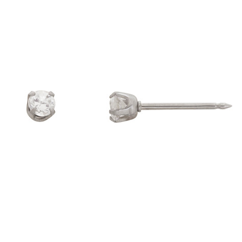 3mm Clear Cubic Zirconium