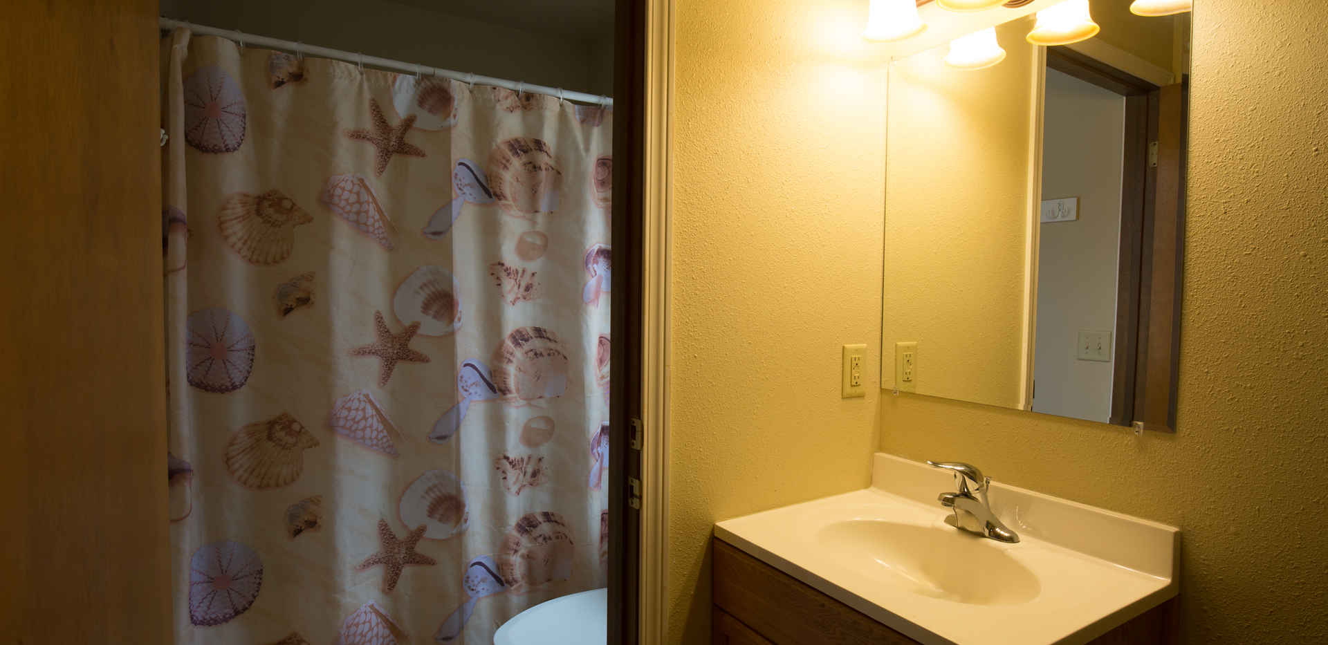 Dorm Apartment Bathroom