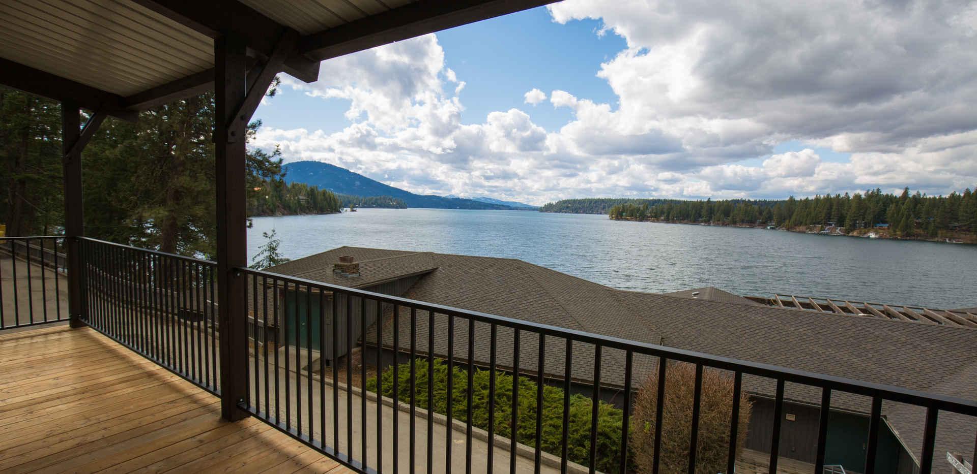 Pine & Fir Porch View