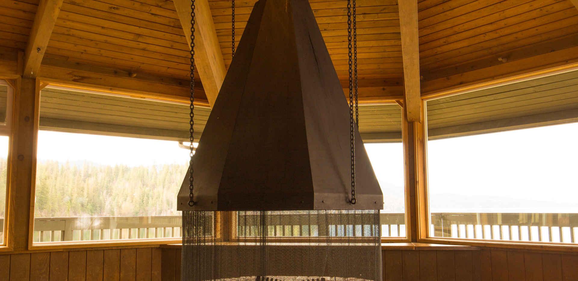 Cafeteria Fireplace