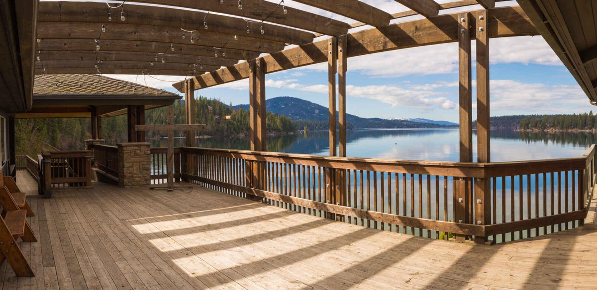 Cafeteria Patio Panorama