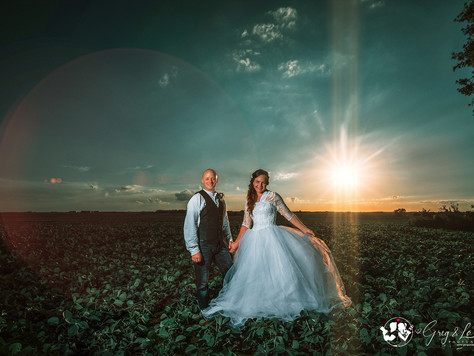 Josh + Sarah Farm Wedding