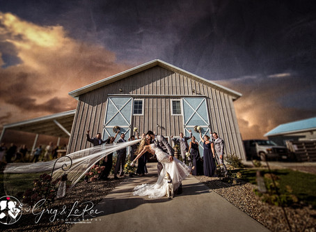 Lindsay & Glenn | Blue Haven Barn & Gardens