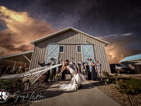 Lindsay & Glenn | Blue Haven Barn & Gardens