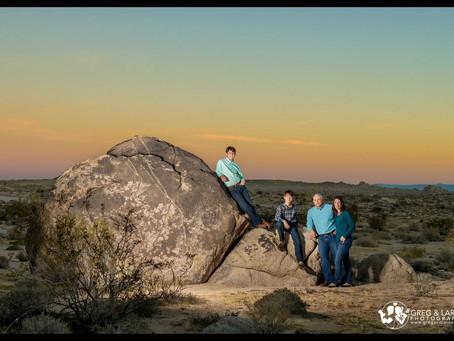 Family Portraits in the Desert