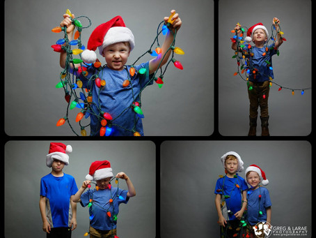 Merry Christmas from our boys Leo & Reven!