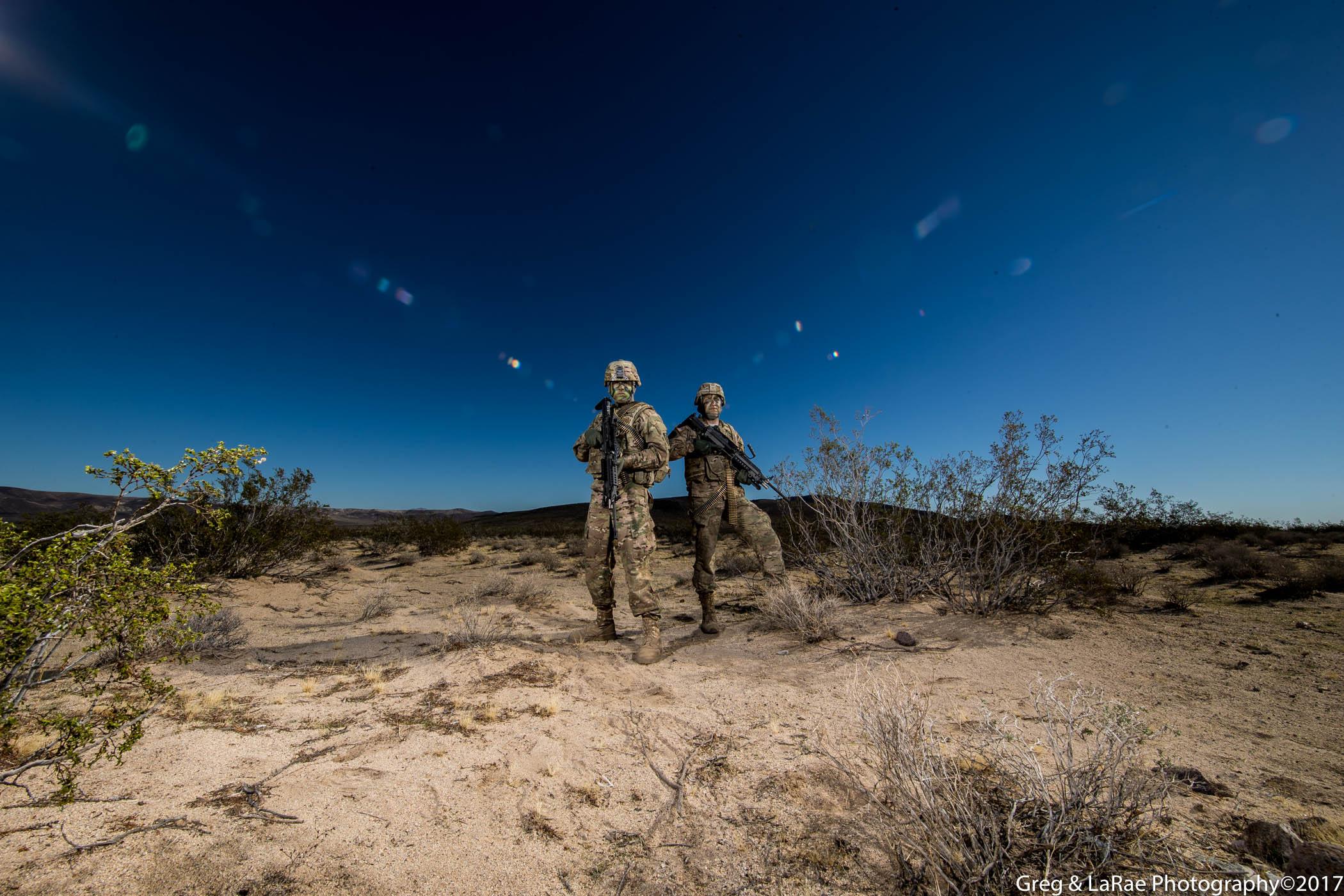 Mohave Desert Portraits