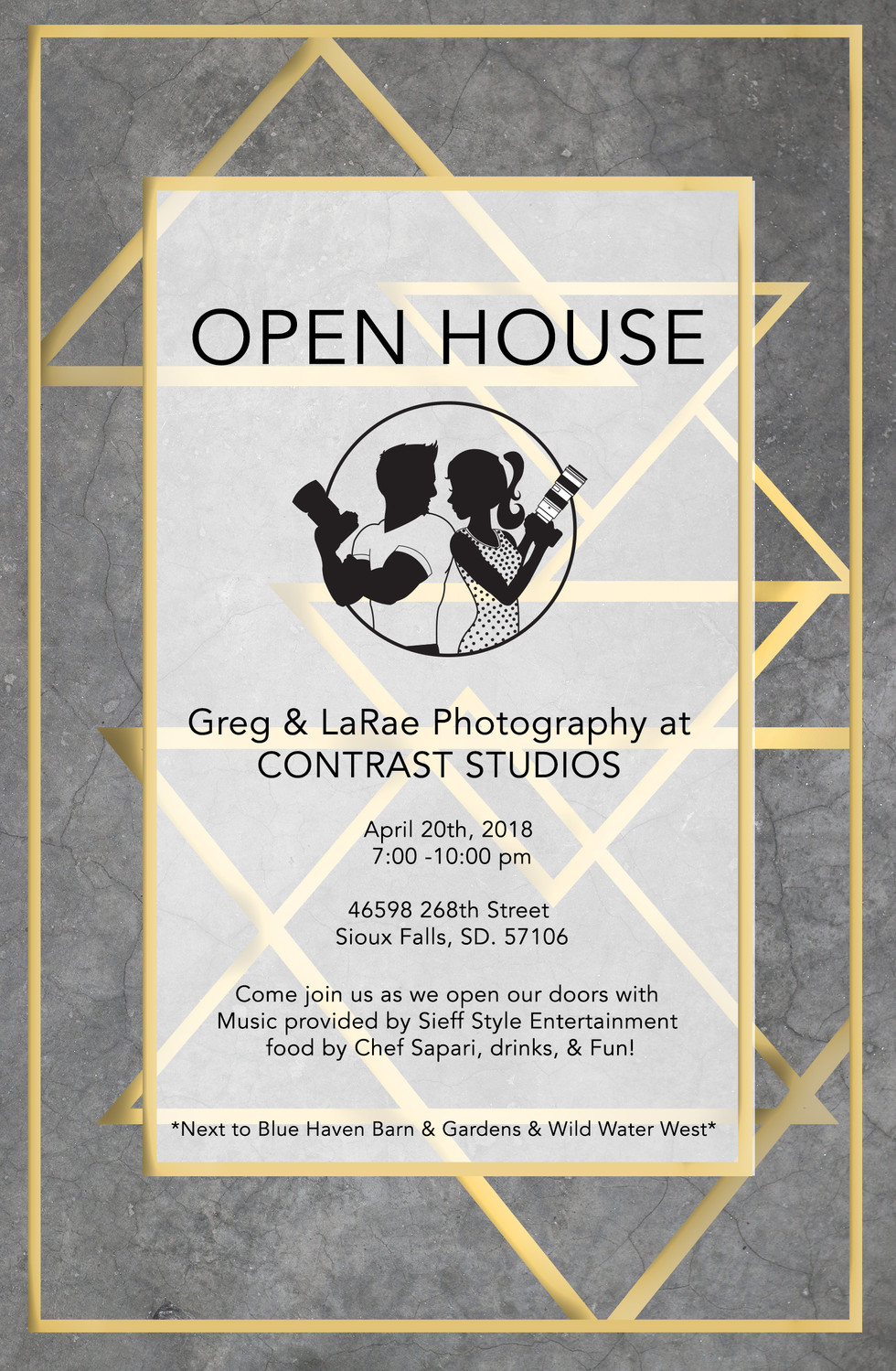 GRAND OPEN HOUSE PARTY