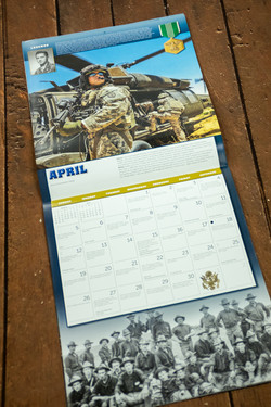 Army Calendar