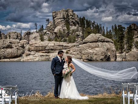 Caitlin & David | High Country Guest Ranch + Sylvan Lake