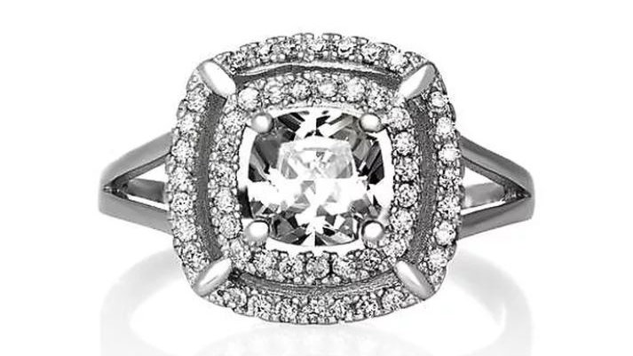 Cannes Cushion Ring