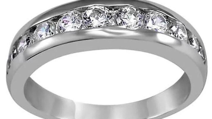 Brilliant Cut Band Ring