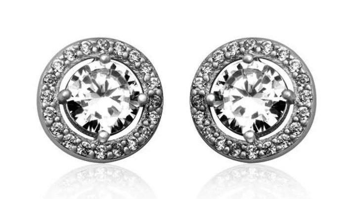 Beverly Circle Earrings