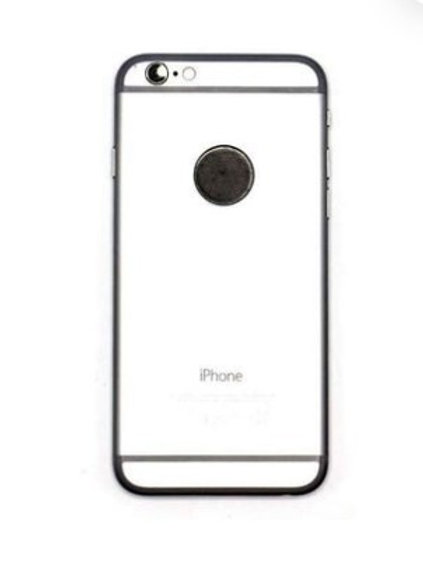 Shungite Mobile Phone Round Plate - 30mm (From Russia)