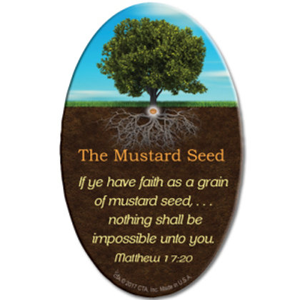 Mustard seed magnet - Ho'oponopono Approved