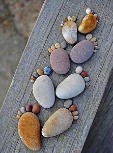 little footprints in stone constellation
