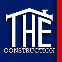 T.H.E. Construction Logo