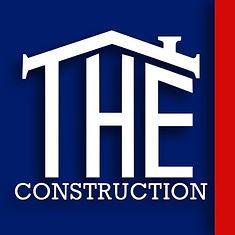 T.H.E. Construction Logo