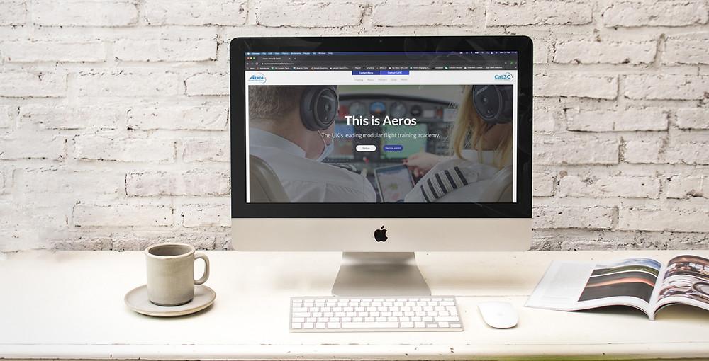 Aeros Cat3C New Website Launch